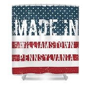 Made In Williamstown, Pennsylvania Shower Curtain