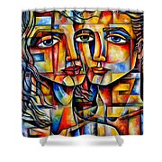 Made With Love Shower Curtain