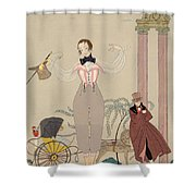 Mademoiselle De Maupin Shower Curtain