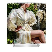 Mademoiselle French Collection 1 Shower Curtain