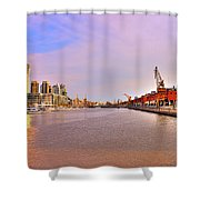 Madero River Shower Curtain