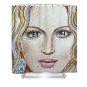 Madgeonna Shower Curtain