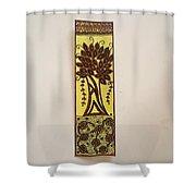 Madhubani Bookmark Shower Curtain
