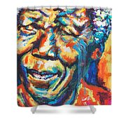 Madiba Shower Curtain