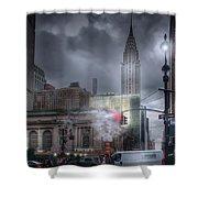 Madison Avenue Shower Curtain