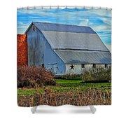 Madison County Barn Love Shower Curtain