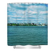 Madison Skyline Shower Curtain