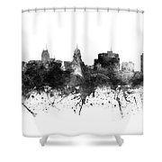 Madison Skyline Uswima09 Shower Curtain