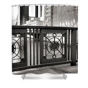 Madison Street Bridge - 2 Shower Curtain