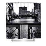 Madison Street Bridge - 3 Shower Curtain