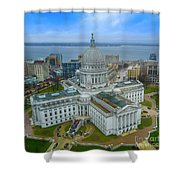 Madison Wisconsin Shower Curtain