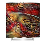 Madness Of Art Shower Curtain