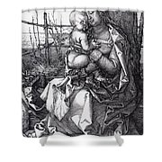 Madonna By The Tree 1513 Shower Curtain