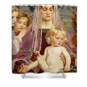 Madonna Of Giverny, 1901 Detail Shower Curtain