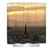 Madrid Mountain View Shower Curtain