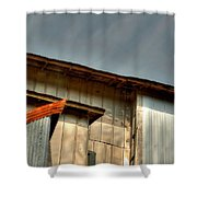 Madsen Grain Co Elevator Shower Curtain