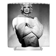 Mae West Shower Curtain