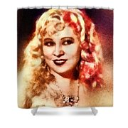 Mae West, Vintage Actress Shower Curtain