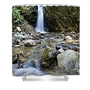 Maekutlong Waterfall Shower Curtain