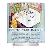 Magazine Ad, 1926 Shower Curtain