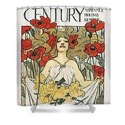 Magazine: Century, 1896 Shower Curtain