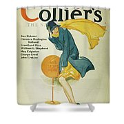 Magazine Cover, 1930 Shower Curtain