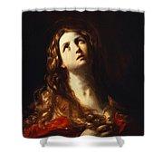 Magdalene In Penitence 1635 Shower Curtain