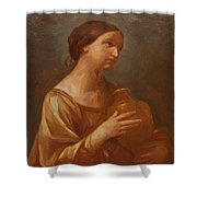 Magdalene With The Jar Of Ointment Shower Curtain