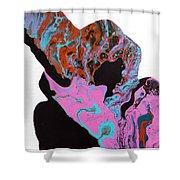 Magenta Shower Curtain
