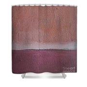 Magenta Valley  Shower Curtain