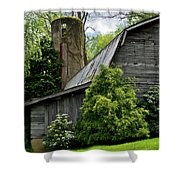 Maggie Valley Barn Shower Curtain