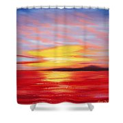Magic At Sunset Shower Curtain