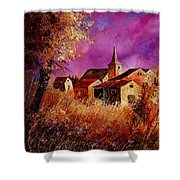Magic Autumn  Shower Curtain