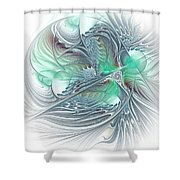 Magic Ball -light Shower Curtain