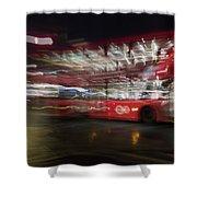 Magic Bus Shower Curtain