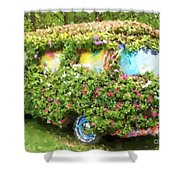 Magic Bus Shower Curtain by Debbi Granruth