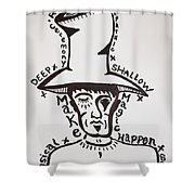 Magic Hat Shower Curtain