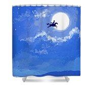 Magic Horse Shower Curtain
