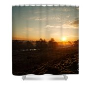 Magic Hour At Chasewater Shower Curtain