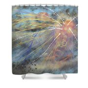 Magic In The Skies Shower Curtain