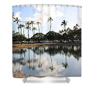 Magic Island Shower Curtain