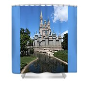 Magic Kingdom Cinderella's Castle #2 Shower Curtain
