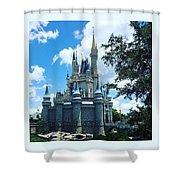 Magic Kingdom Cinderella's Castle #3 Shower Curtain