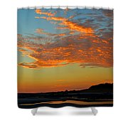 Magic Moments Over Cape Cod Bay Shower Curtain