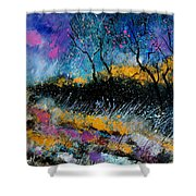 Magic Morning Light Shower Curtain