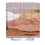 Magic Of The Breakaways South Australia 2014 To 16 Shower Curtain