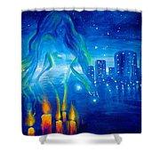 Magic Of The Night Shower Curtain