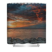 Magic Sky  Shower Curtain
