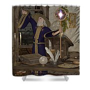 Magic Sorcerer Shower Curtain