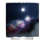 Magic Sun Shower Curtain